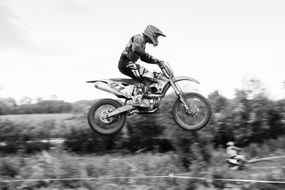 Photographing a Motocross event
