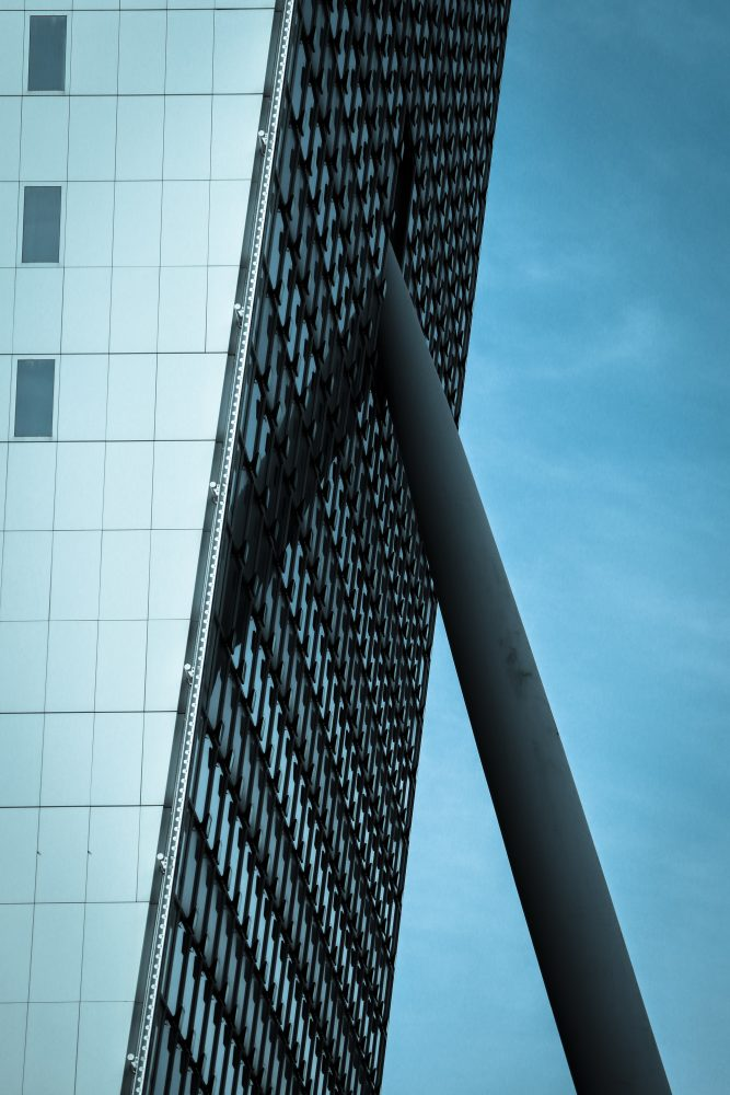 Photographing architecture in Rotterdam for beginners.