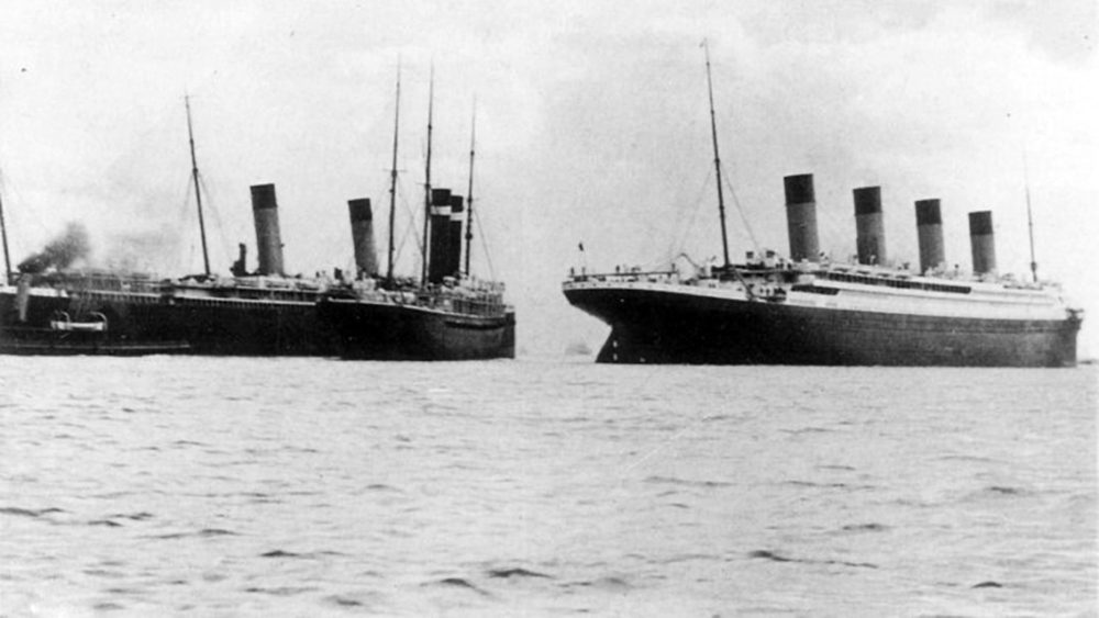 Titanic and the SS City of New York