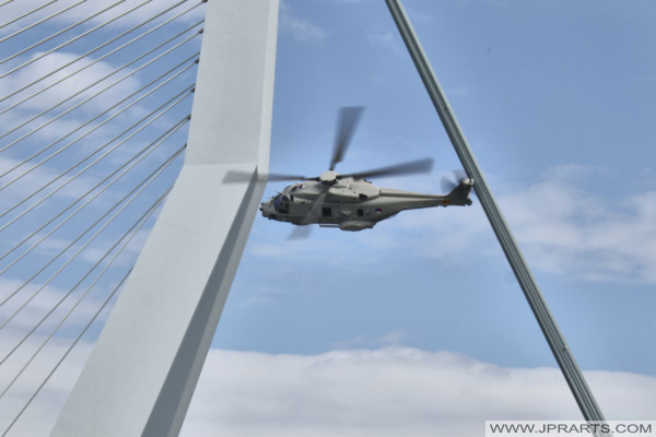 NHIndustries NH90 in action at World Harbour Days Rotterdam